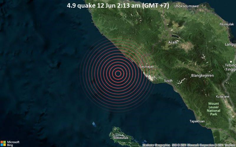 4.9 quake 12 Jun 2:13 am (GMT +7)