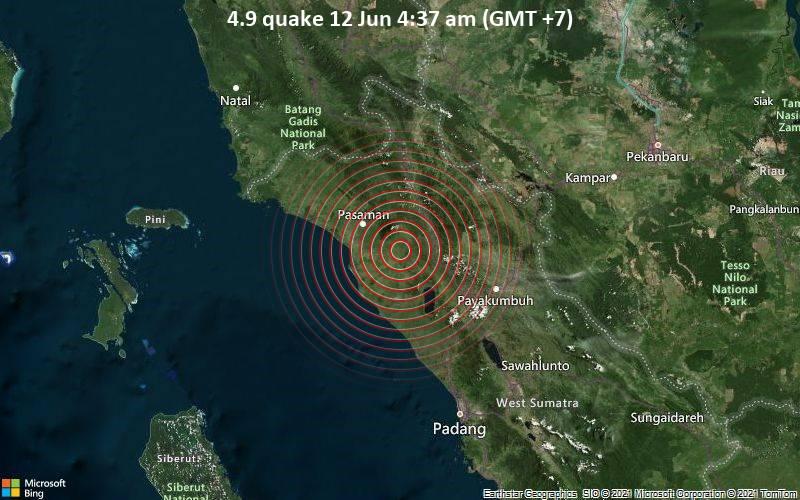 4.9 quake 12 Jun 4:37 am (GMT +7)