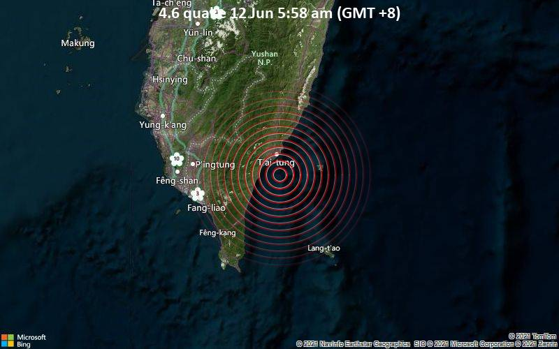 4.6 quake 12 Jun 5:58 am (GMT +8)