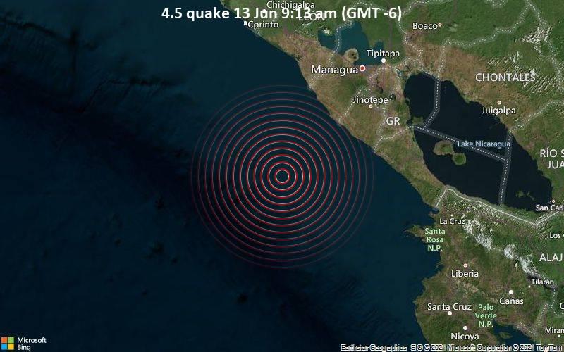4.5 quake 13 Jun 9:13 am (GMT -6)