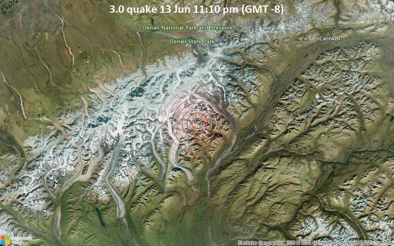 3.0 quake 13 Jun 11:10 pm (GMT -8)
