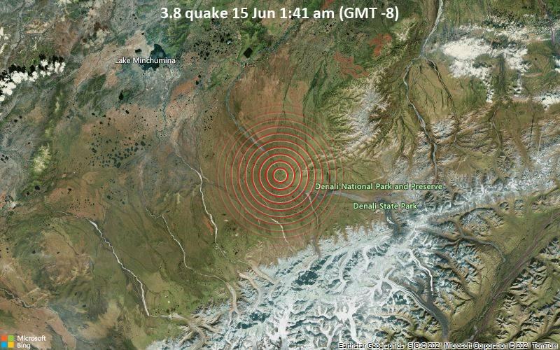 3.8 quake 15 Jun 1:41 am (GMT -8)