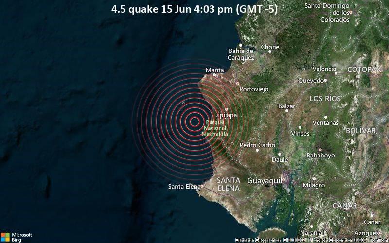 4.5 quake 15 Jun 4:03 pm (GMT -5)