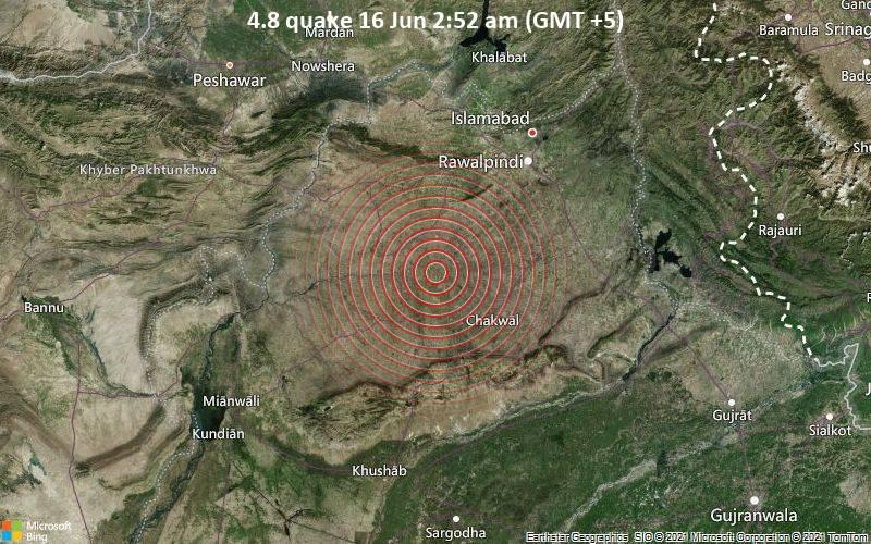 4.8 quake 16 Jun 2:52 am (GMT +5)