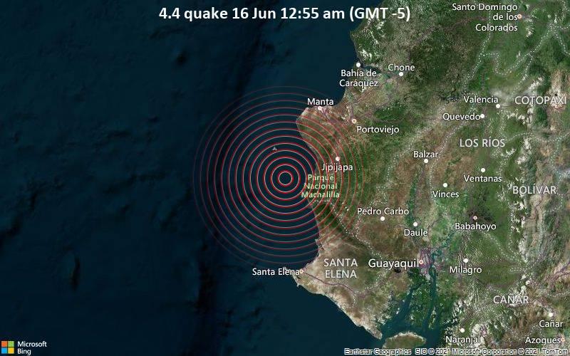 4.4 quake 16 Jun 12:55 am (GMT -5)