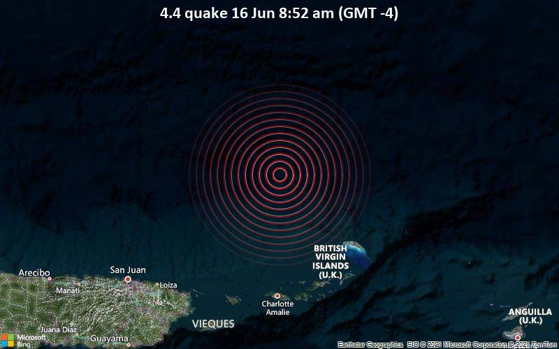 4.4 quake 16 Jun 8:52 am (GMT -4)
