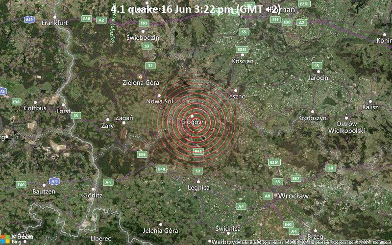 4.1 quake 16 Jun 3:22 pm (GMT +2)