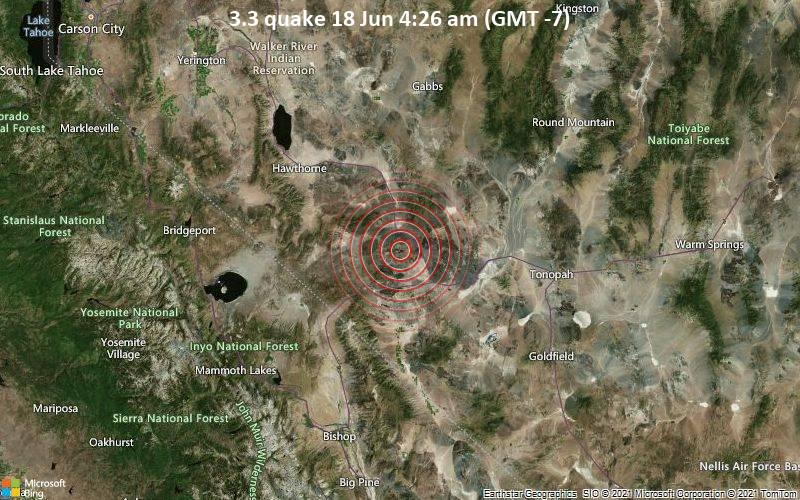 3.3 quake 18 Jun 4:26 am (GMT -7)