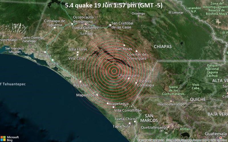 5.4 quake 19 Jun 1:57 pm (GMT -5)