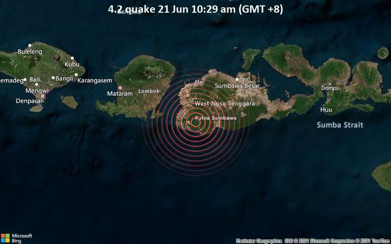 4.2 quake 21 Jun 10:29 am (GMT +8)
