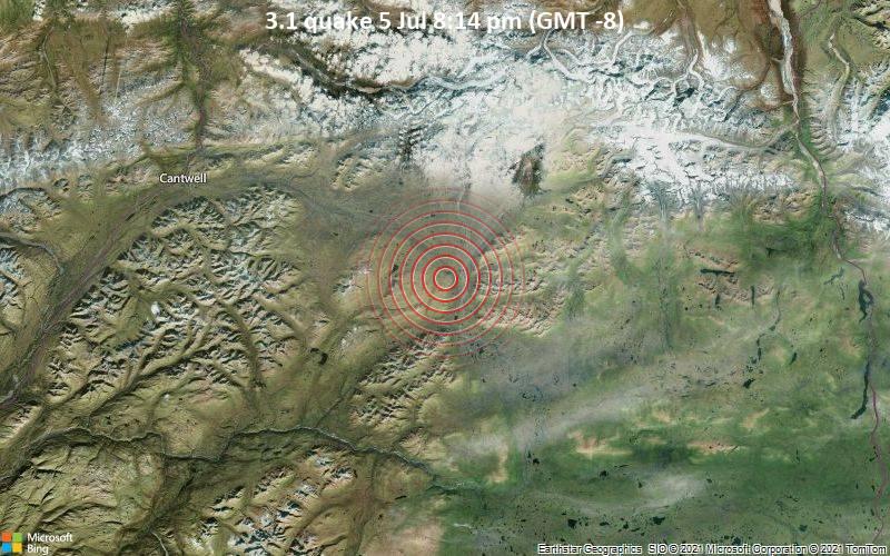 3.1 quake 5 Jul 8:14 pm (GMT -8)