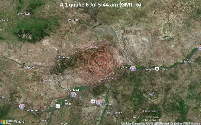 4.1 quake 6 Jul 5:44 am (GMT -6)