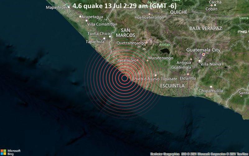 4.6 quake 13 Jul 2:29 am (GMT -6)