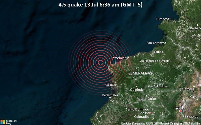 4.5 quake 13 Jul 6:36 am (GMT -5)