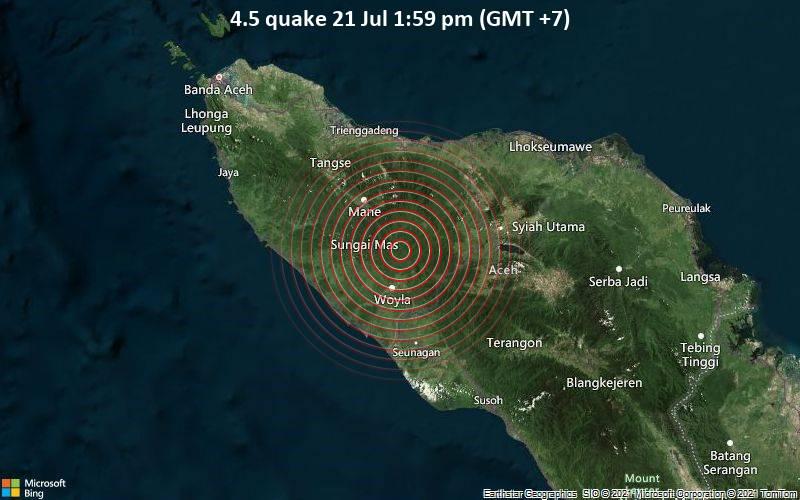 4.5 quake 21 Jul 1:59 pm (GMT +7)