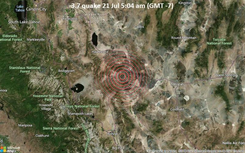 3.7 quake 21 Jul 5:04 am (GMT -7)