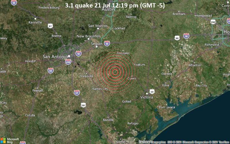 3.1 quake 21 Jul 12:19 pm (GMT -5)