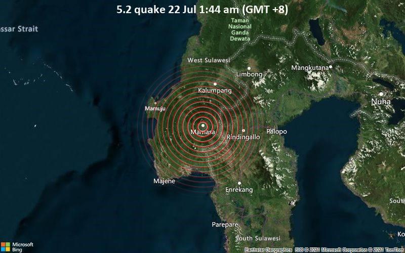 5.2 quake 22 Jul 1:44 am (GMT +8)