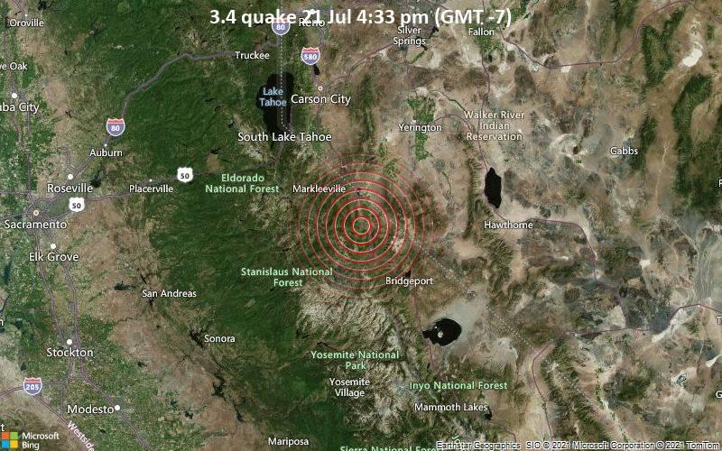 3.4 quake 21 Jul 4:33 pm (GMT -7)