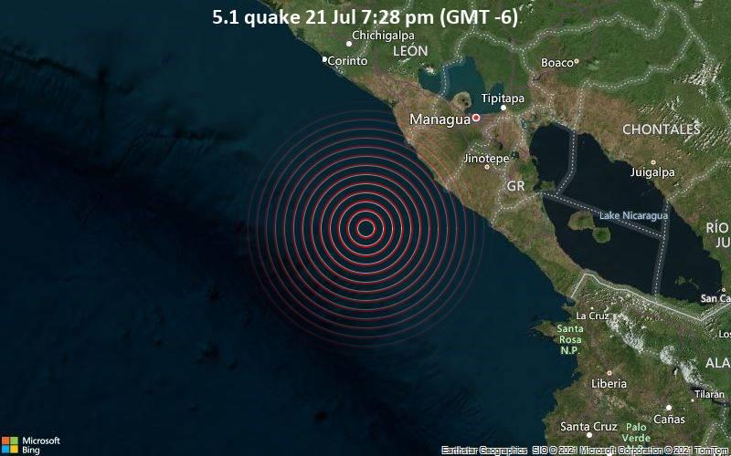 5.1 quake 21 Jul 7:28 pm (GMT -6)