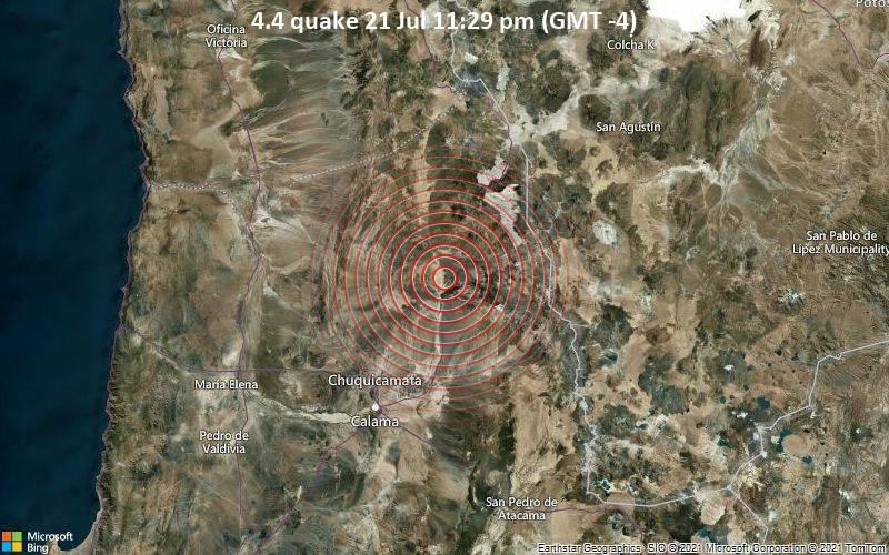 4.4 quake 21 Jul 11:29 pm (GMT -4)