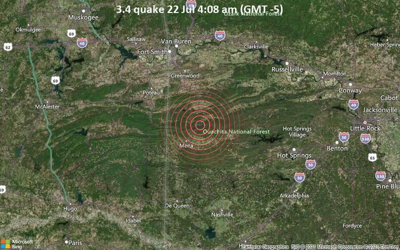 3.4 quake 22 Jul 4:08 am (GMT -5)
