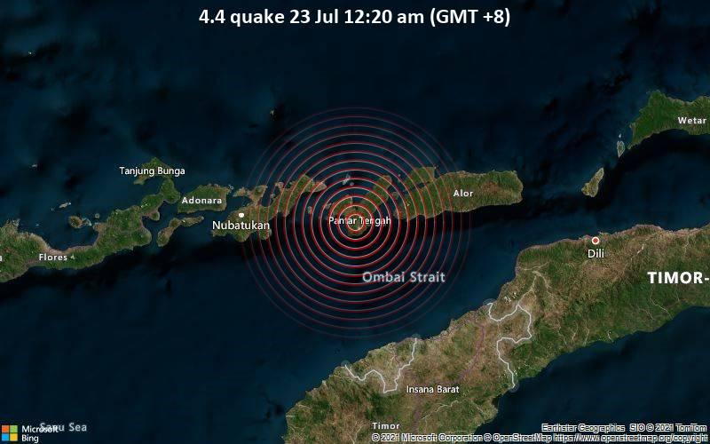 4.4 quake 23 Jul 12:20 am (GMT +8)