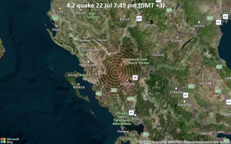 4.2 quake 22 Jul 7:49 pm (GMT +3)