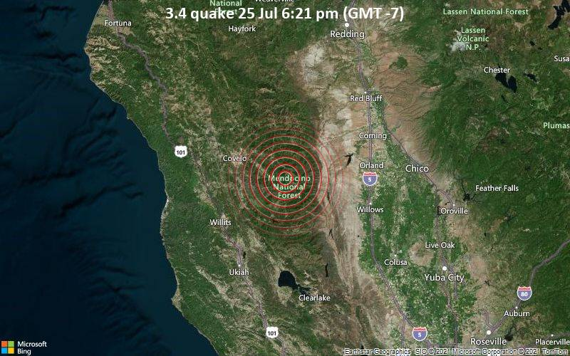 3.4 quake 25 Jul 6:21 pm (GMT -7)