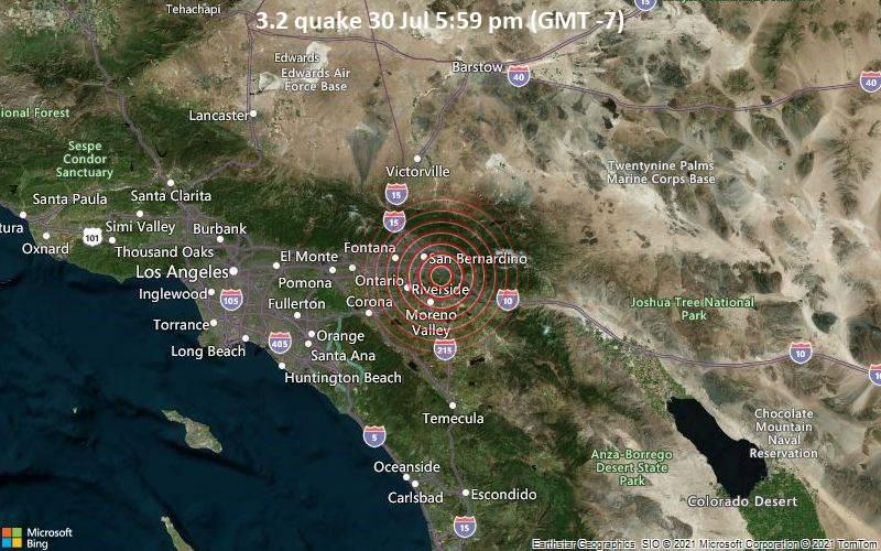 3.2 quake 30 Jul 5:59 pm (GMT -7)