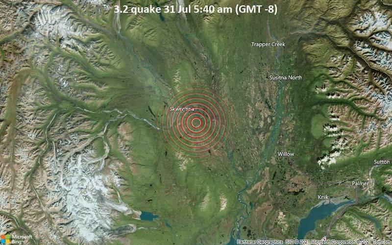 3.2 quake 31 Jul 5:40 am (GMT -8)