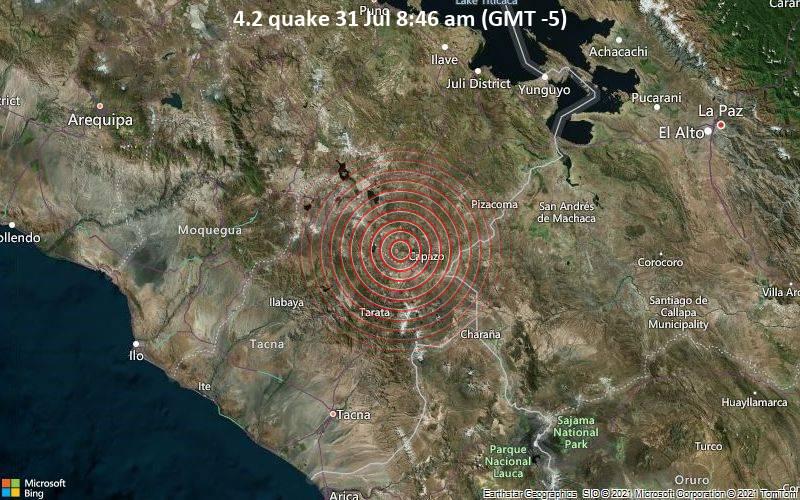 4.2 quake 31 Jul 8:46 am (GMT -5)
