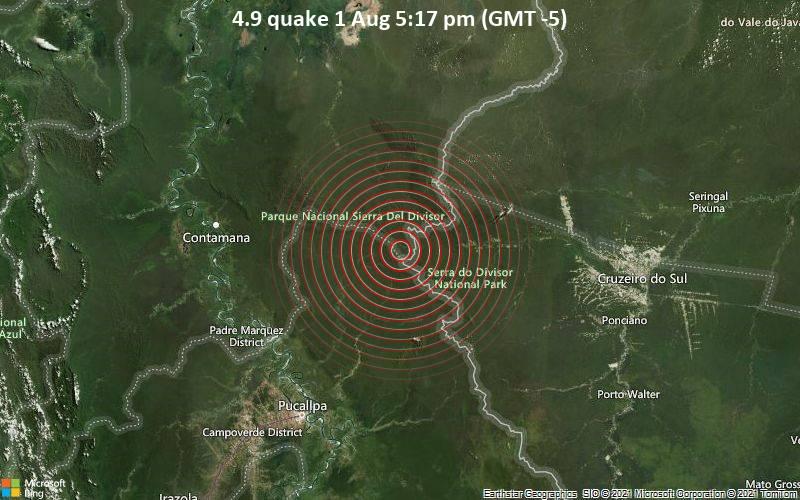 4.9 quake 1 Aug 5:17 pm (GMT -5)