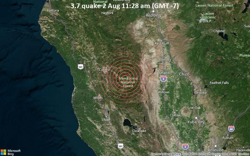 3.7 quake 2 Aug 11:28 am (GMT -7)