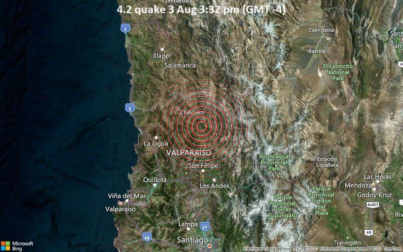 4.2 quake 3 Aug 3:32 pm (GMT -4)