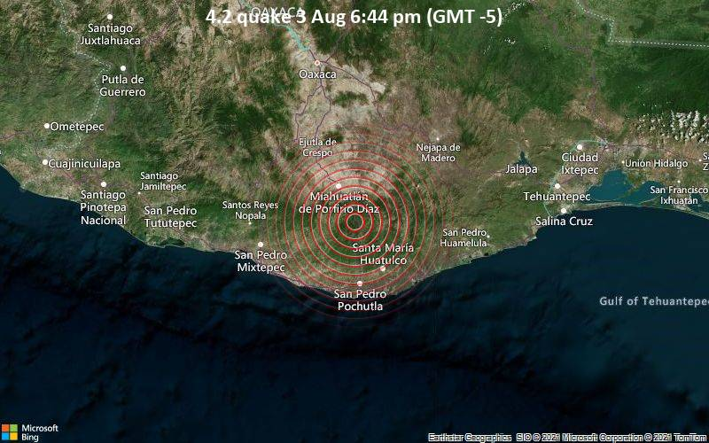 4.2 quake 3 Aug 6:44 pm (GMT -5)