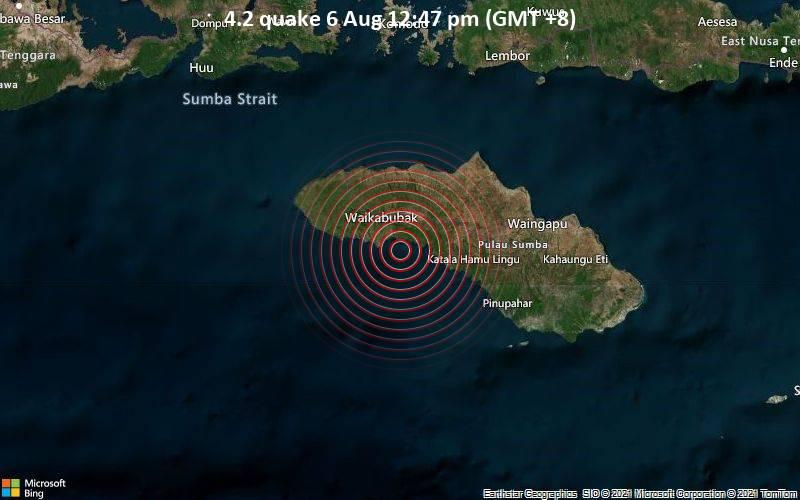 4.2 quake 6 Aug 12:47 pm (GMT +8)