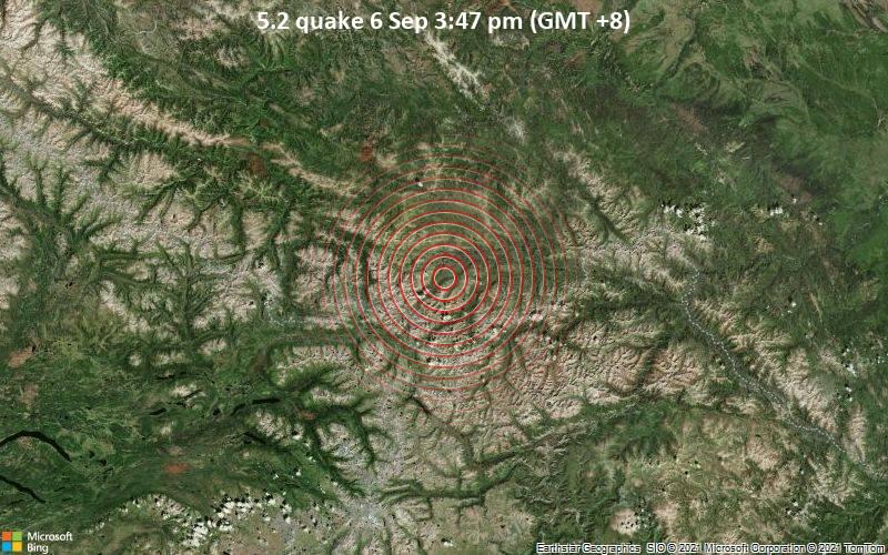 5.2 quake 6 Sep 3:47 pm (GMT +8)