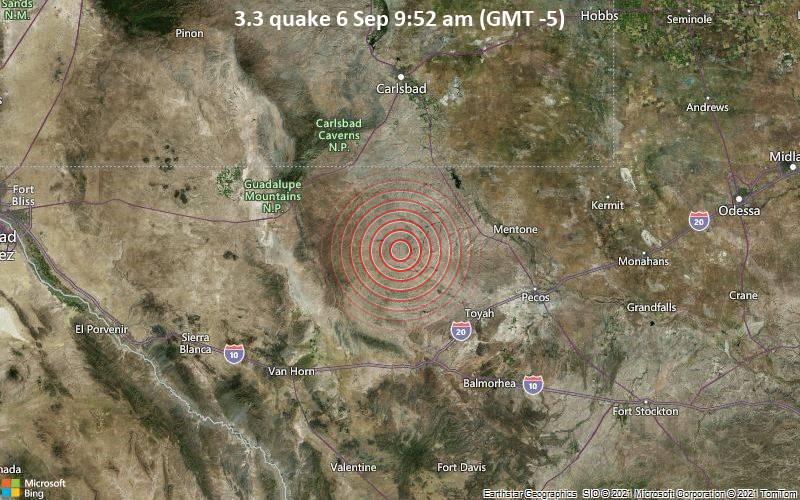 3.3 quake 6 Sep 9:52 am (GMT -5)