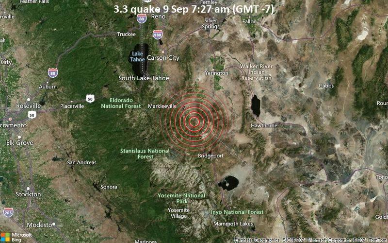 3.3 quake 9 Sep 7:27 am (GMT -7)