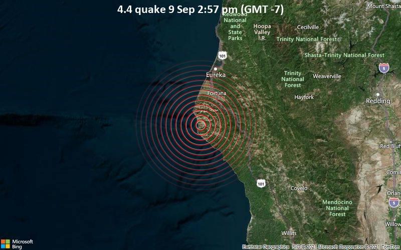 4.4 quake 9 Sep 2:57 pm (GMT -7)