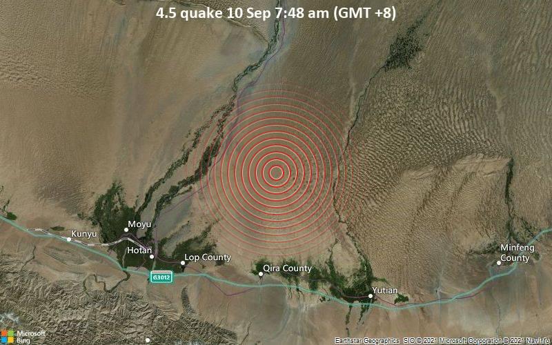 4.5 quake 10 Sep 7:48 am (GMT +8)