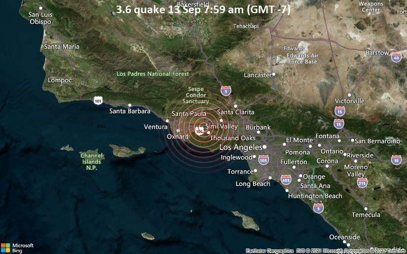 3.6 quake 13 Sep 7:59 am (GMT -7)