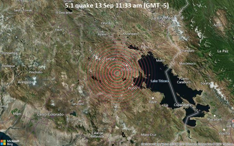 5.1 quake 13 Sep 11:33 am (GMT -5)