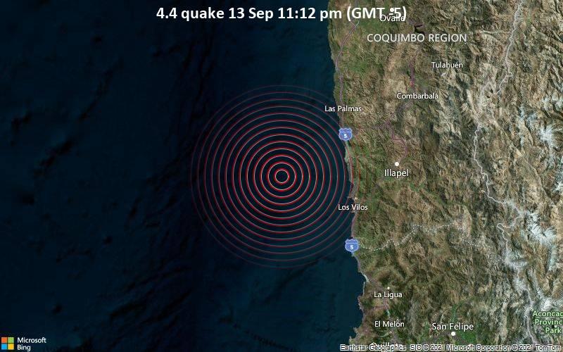 4.4 quake 13 Sep 11:12 pm (GMT -5)
