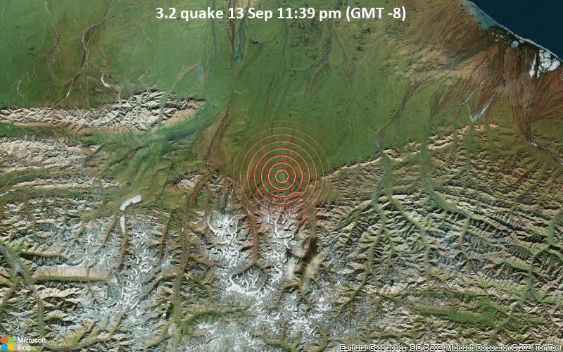 3.2 quake 13 Sep 11:39 pm (GMT -8)
