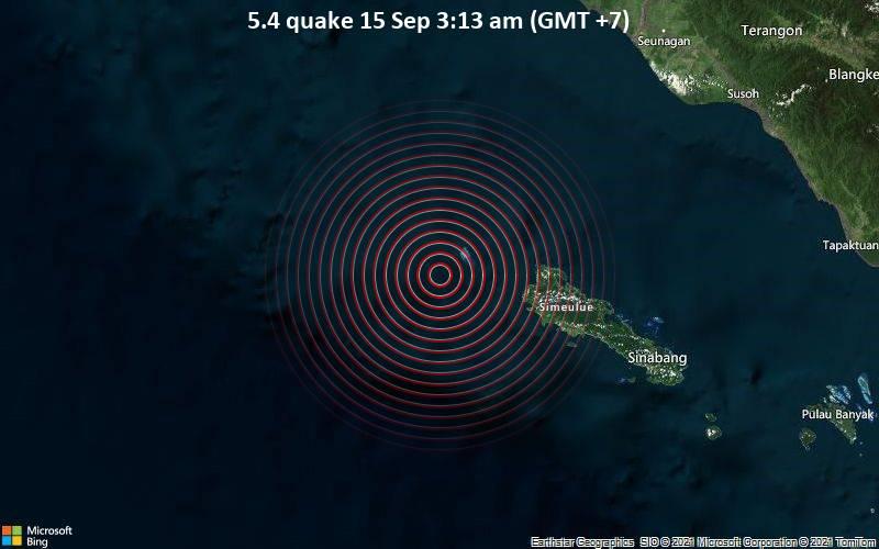 5.4 quake 15 Sep 3:13 am (GMT +7)