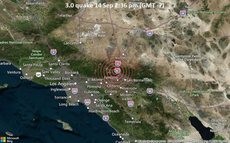 3.0 quake 14 Sep 2:36 pm (GMT -7)