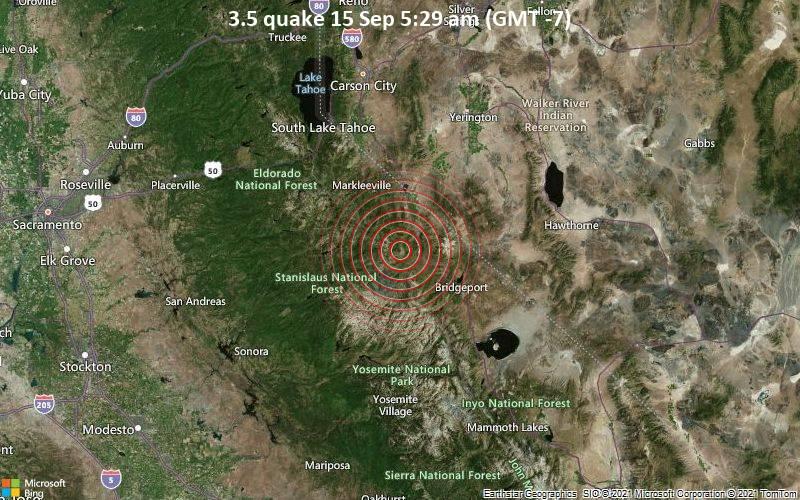 3.5 quake 15 Sep 5:29 am (GMT -7)