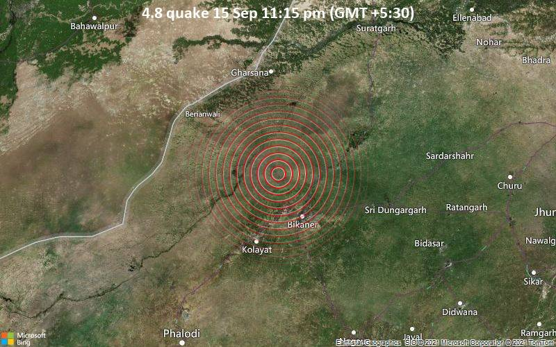 4.8 quake 15 Sep 11:15 pm (GMT +5:30)
